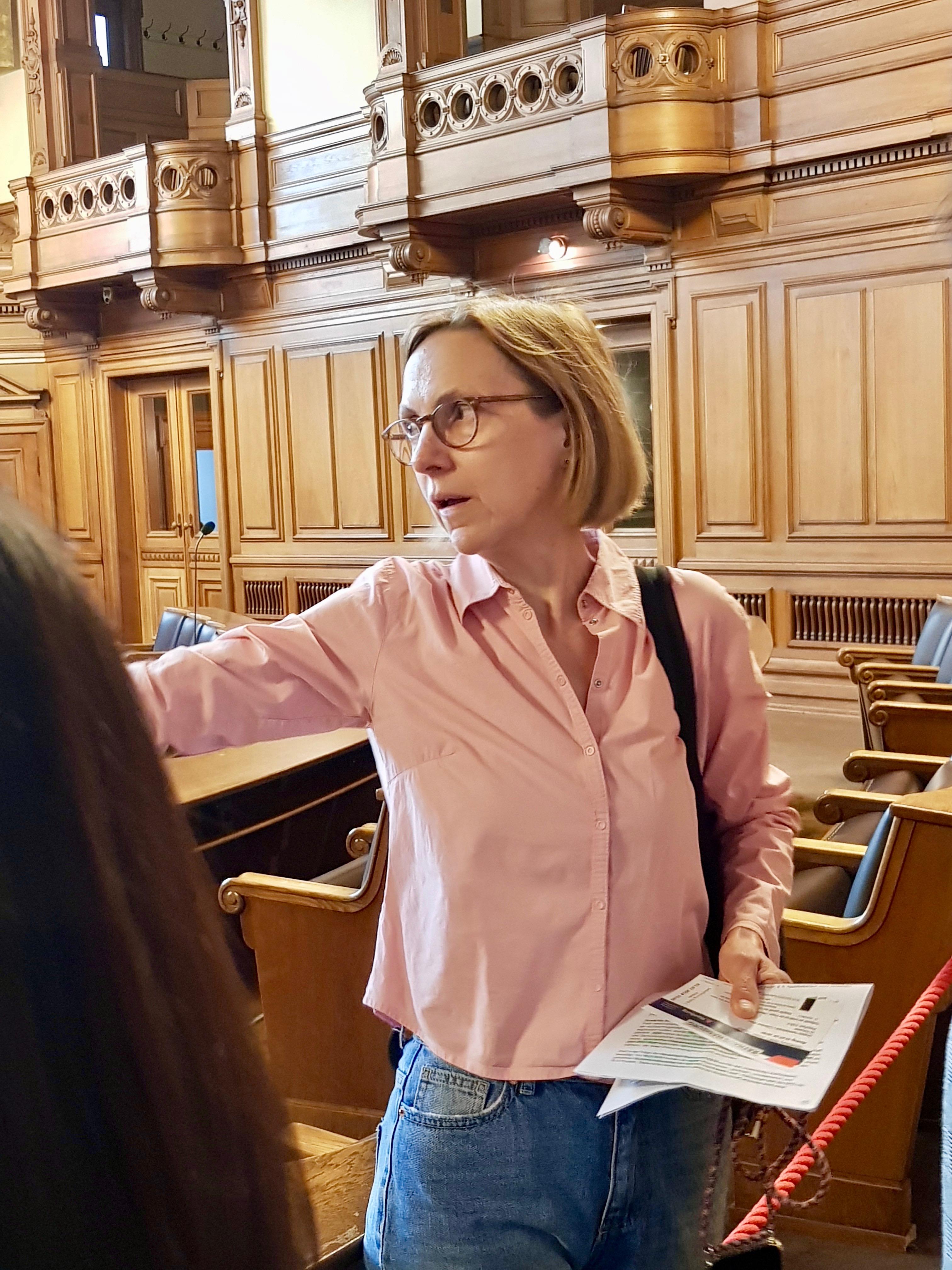 Dr. Carola Ensslen, MdHB (Fachsprecherin für Flucht und Migration, freiwilliges Engagement, Queer und Verfassungspolitik)